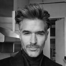 chaotisch klassische Haarschnitte für Männer mit welliges Haar