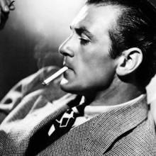 cool Poliert slicked zurück 1930er-Jahre Frisur für Männer