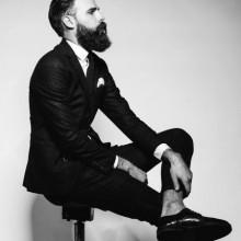 cool, classy Frisuren für Männer mit Bärten