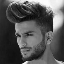cool medium hair cut Männern