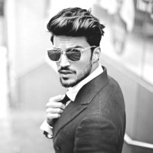 coporate pomadour Frisuren für Männer im business
