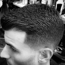 crew cut fashion foward Haarschnitte taper fade für Jungs