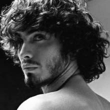 curly lange Frisuren für Männer