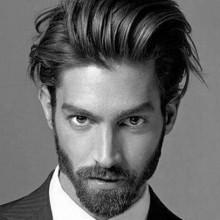 dapper-Frisuren für langes bis mittellanges Haar für Männer