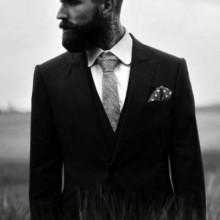 dapper Herren klassische Haarschnitt