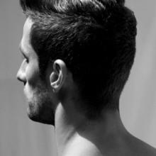 dapper Herren-styles für kurze Dicke Haare