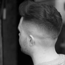 dapper-wellig Herren kurze fade-Haarschnitte