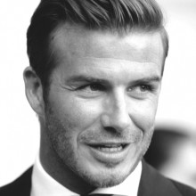 david beckham business-Haar-Ideen für Männer