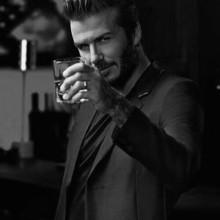 david beckham stilvollen Frisur-Ideen für Männer