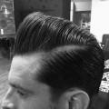 debonair Enten Arsch Haarschnitt für Männer