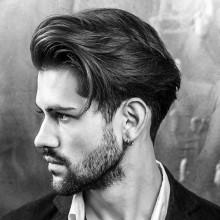 debonair männlichen Haar-Stil-Mittel