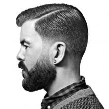 debonait Herren-Haarschnitt kurze Länge mit fade