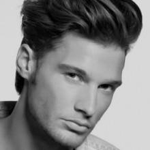 dicken Spitze coolen Haarschnitt für Männer