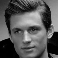 dicken gel-moderne Frisuren für Männer