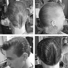 ducktail Frisur für Herren