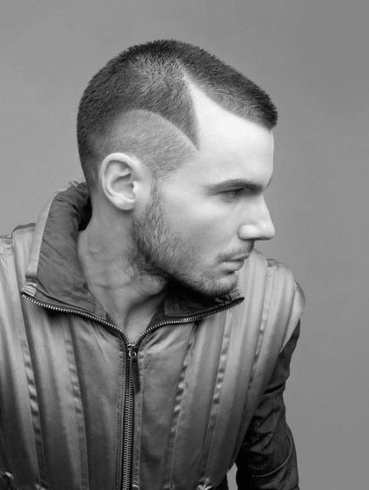 Dünnen Haare Buzz Cut Für Männer Kunstopde