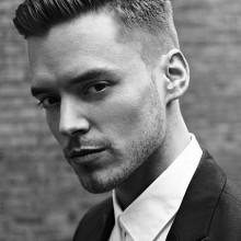 edgy Herren kurze Haarschnitte für Dicke Haare