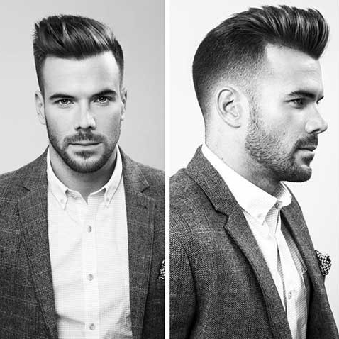 elegante moderne Männer Frisur | KunsTop.de