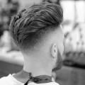 eleganten Herren-undercut-Haare