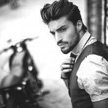 eleganten business-Haarschnitt Männer