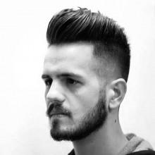 fade Frisuren mittellang dickes Haar für Männer