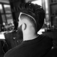 fade-Seiten Frisuren Männer mittleren