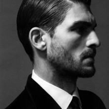 gepflegtes Herren harte Teil klassisch Haare