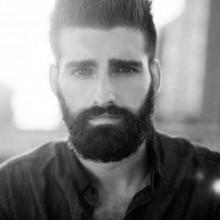 gerade Dicke Haare für Männer