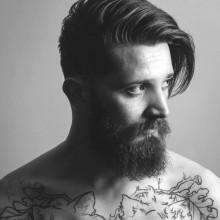 geteilt Frisuren für lange Haare Männer Ideen