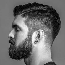 harte Teil Herren short classic Haarschnitt