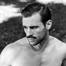 harte Teil klassische Herren-Haarschnitt