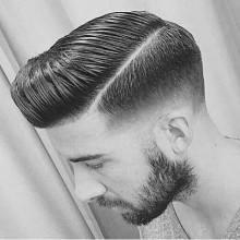 harte Teil klassische männliche Haar-inspiration