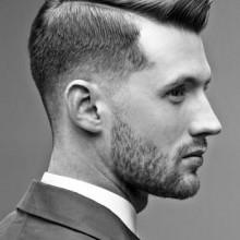 hartes Teil, Frisuren, professionelle Männchen