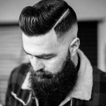 hartes Teil, männliche Professionell aussehende Frisuren