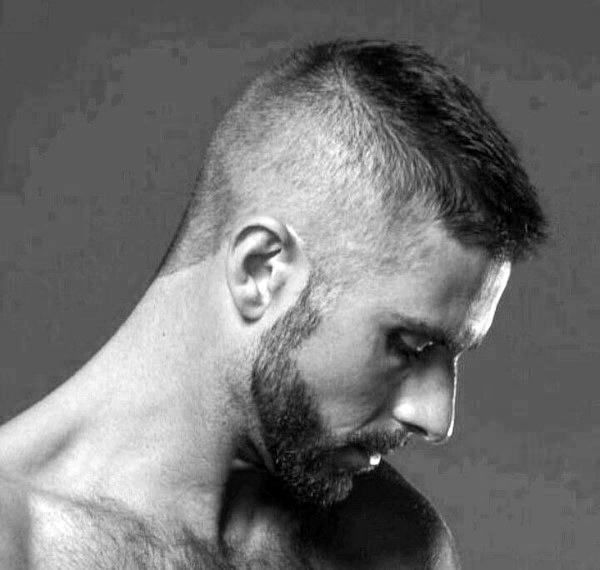 Hoch Und Eng Haarschnitt Für Männer