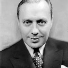 jack benny kurze Länge Kamm über der 1930er Jahre Haarschnitt