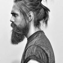 japanische samurai-Frisur für Männer
