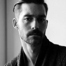klassische kurze Frisur für Männer