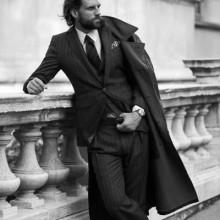 kreative Herren lange Haare classy style