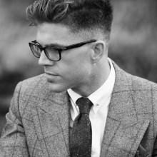 kürzester männlichen Frisuren für Dicke welliges Haar