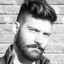 kurz Rasiert Seiten Frisuren für Männer