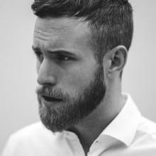 kurze Frisuren für Männer mit dünnem Haar