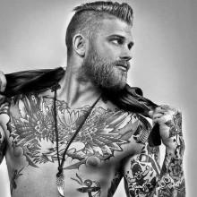 kurze Haare Irokesenschnitt Stile für Männer