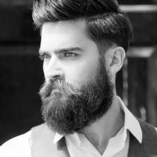 kurze Haarschnitte für Dicke Haare Männer