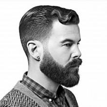 kurze Haarschnitte für welliges Haar Männer