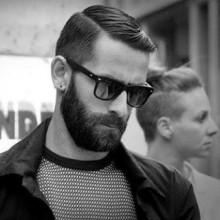 kurze Länge Mode-forward-klassische Haarschnitt für Männer