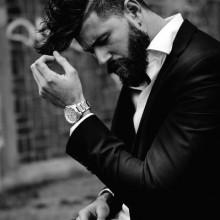 kurze Länge Seitenteil Frisuren für Männer