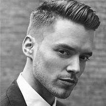 kurze professionelle Frisuren für Männer