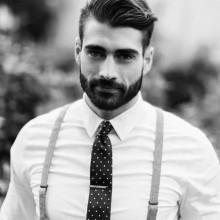 kurzen Haarschnitt für welliges dickes Haar Männer