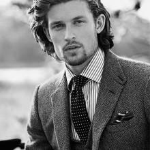 lang classy Frisuren für Männer